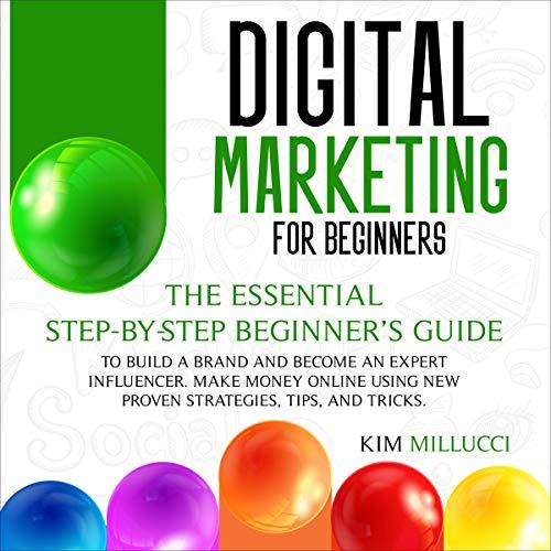 Digital Marketing for Beginners cover art