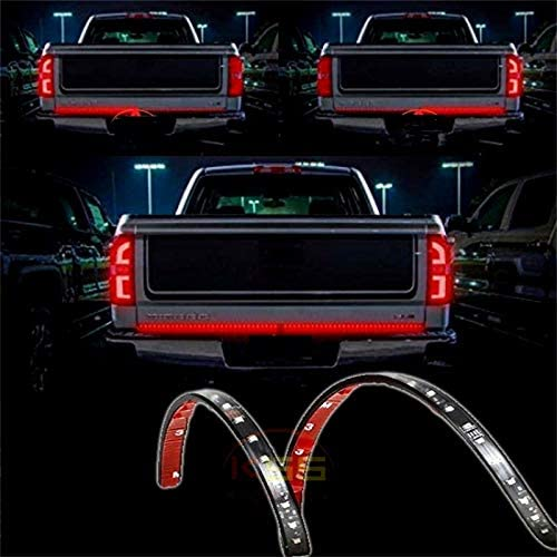 48 Red LED Truck Tailgate Light Bar Running Turn Signal Brake Reverse Backup Tail Light Strip product image