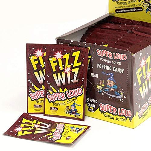 Party Delights Buffet Caramelos Cola Burbujeo Wizz Peta-Zetas Relleno Piñata - 50Pk