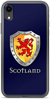 iPhone XR Pure Clear Case Cases Cover Scotland Lion Rampant Shield
