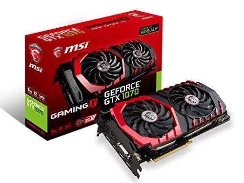 MSI Geforce GTX 1070 Gaming X 8G GeForce GTX 1070 8GB GDDR5 grafische kaart