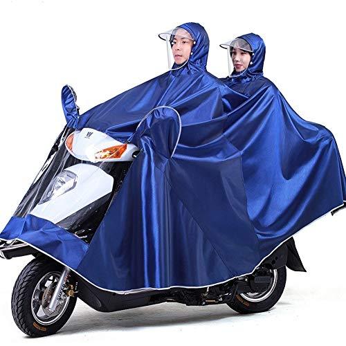 Pluie Manteaux Imperméable à Grande Capuche Moto/Vélo Poncho/Veste de Pluie Raincoat Cape Bonne Qualité Rainwear Outdoor Waterproof Unisexe pour Homme Femme