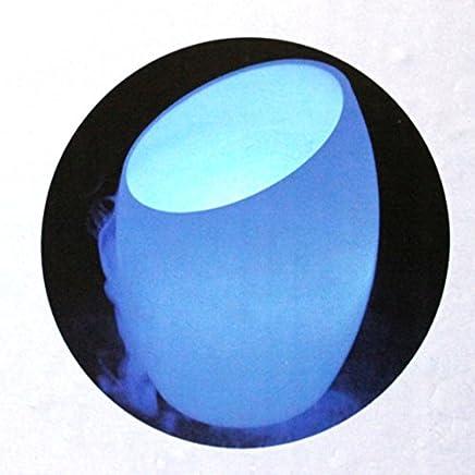 イサムコーポレーション アロマミスト DEEP SEA BLUE 【 ブルー 】 MIST-BL ガラス瓶タイプ H180×W140×D140mm アロマポット ルームライト