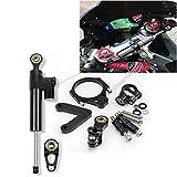 CNC Ammortizzatore di Sterzo Moto Universale, Kit Staffa Stabilizzatori Manubrio Moto Per Ducati 848 2008 2009 2010
