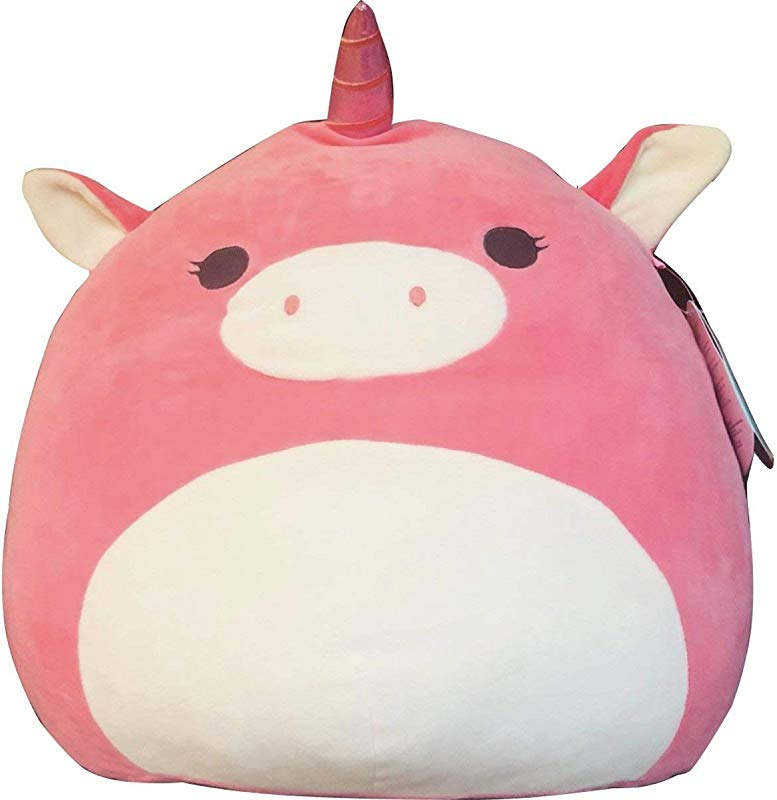 Squishmallow Kellytoy 8 Pink Unicorn Super Soft Squishy Plush Toy Pillow Pet