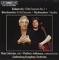 Kabalevsky: Cello Concerto No.2/ Kabalevsky/ Rachmaninoff by Mats Lidstrテカm (1996-02-20)