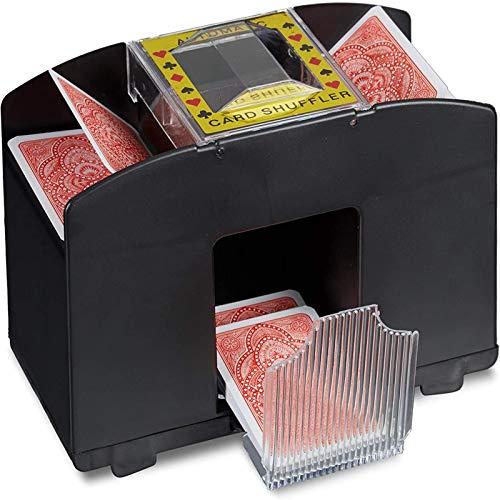 Best quiet automatic card shuffler
