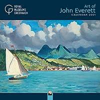 Royal Museums Greenwich - The Art of John Everett Wall Calendar 2021 (Art Calendar)