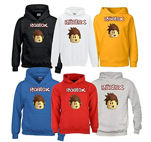 Roblox hoodie jumper (Blue, 9-11 Years)