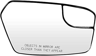 ECCPP Passenger Side Exterior Mirror Glasses, Right Side Rear View Mirror Glass Blind Spot Door Mirror Glass Replacement fit for 2011-2012 Ford Fusion Lincoln MKZ 2011 Mercury Milan