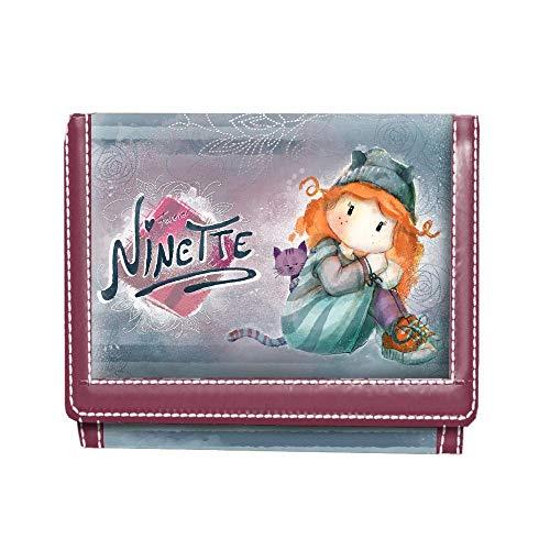 Forever Ninette Ninette Origin-billetero Münzbörse, 12 cm, Blau (Azul)