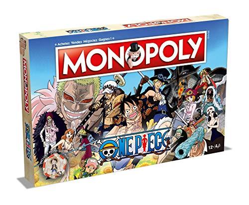Monopoly One Pice – Juego de Mesa – Versión Francesa