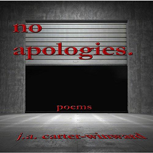 No Apologies audiobook cover art