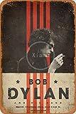 NOT Bob Dylan Blechschild Deko Schild Retro Poster Metall