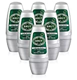 6x Brut Original para hombre Roll On Desodorante antitranspirante 50ml por Faberge
