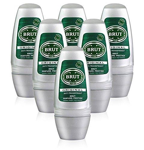 LOt de 6 déodorants à bille Brut Original,...