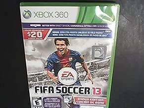 XBox360, FIFA Soccer 13 With Bonus 2200 FIFA Points [Unlocks 22 Gold Packs]