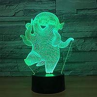 赤ちゃんの寝室の寝室3D小さな夜のライトクリエイティブギフトLed Usb 3D照明器具キッズルームLedキッズライトランプ
