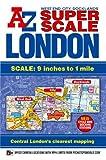 Super Scale London Street Atlas A-Z