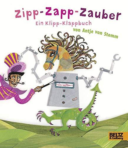 Price comparison product image Zipp-Zapp-Zauber: Ein Klipp-Klappbuch