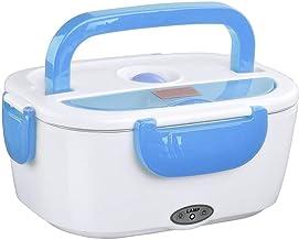 Winnes Boîte Chauffante Électrique, Lunch Box Chauffant 220V 12V Électrique Boîte à Lunch Thermique en Acier Inoxydable