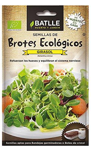 Semillas Ecológicas Brotes - Brotes ecológicos de Girasol - Batlle
