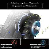 Angel Zuhause rudergerät Rudergerät Windwiderstand + magnetische Kontrollstufe 8 kann den Schwierigkeitsgrad einstellen – schwarz - 5