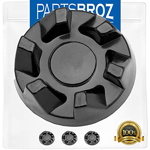 9704230 Blender Drive Coupling (3-Pack) by PartsBroz - Compatible with Kitchen Aid Blenders - Replaces WP9704230, AP6013694, PS11746921, WP9704230VP
