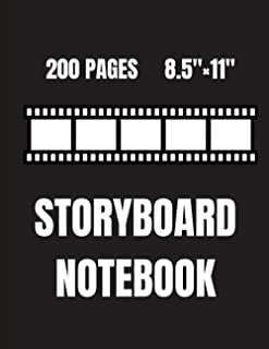 Storyboard Notebook: Storyboard for animation