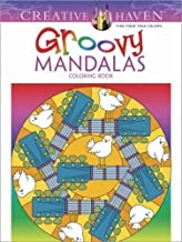 Creative Haven Groovy Mandalas Coloring Book (Creative Haven Coloring Books)