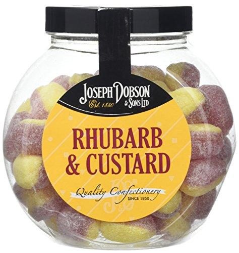 Joseph Dobson Rhubarb and Custard Sweet Jar, 400g