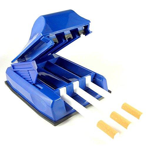 Starlet24® Zigarettenstopfmaschine Zigarettenstopfer Stopfmaschine Zigaretten Tabakstopfer 3er Stopfer