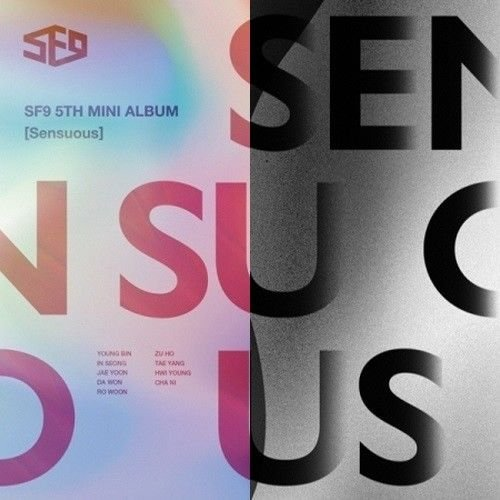 SF9 - [Sensuous] 5th Mini Album Random Ver CD+72p Booklet+2p PhotoCard K-POP Sealed Idol