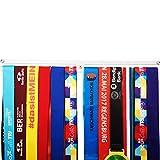 Medaillen-Aufhänger für Rennen, Auszeichnungen für Medaillen, für alle Sportarten, Medaillenhalter, Läufer, Medaillen-Aufhänger, Medaillenständer, Trophäenhalter, silberfarben