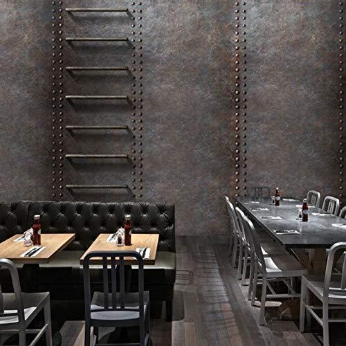 Papel Pintado De Óxido De Metal Retro Cafe Bar Restaurant H