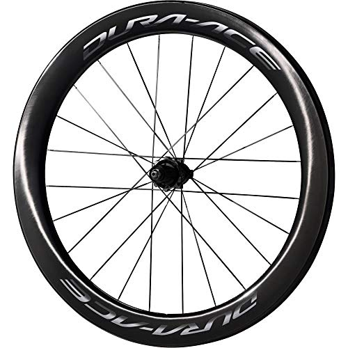 Shimano WH-9100 C60 Dura Ace Carbon Wheels Carbon Rear 700C - Clincher 60 mm deep rim, QR axle