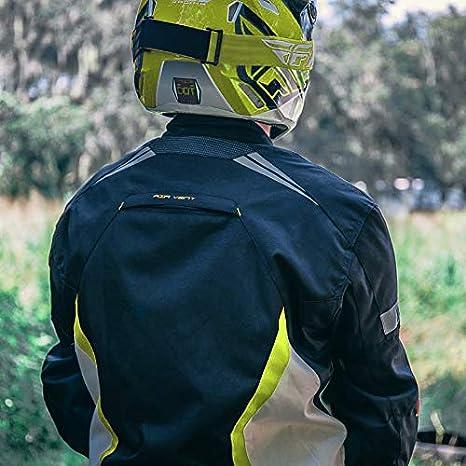 Black, 3XL Motorcycle Jacket For Men Textile Motorbike Dualsport Enduro Motocross Racing Biker Riding CE Armored Waterproof All-Weather