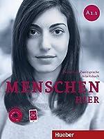 Menschen A1/1 / Menschen hier A1/1. Arbeitsbuch mit Audio-CD: Deutsch als Zweitsprache