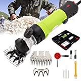 Ratoher Sheep Shears 690W Electric Professional Grooming Animal Clippers for Sheep Goats Alpacas Llamas Large Furry Animals (Green)