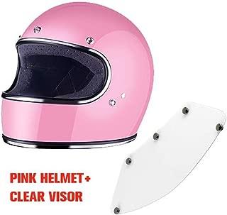 Full Face Vintage Motorcycle Racing Motocross Helmet Protective Gear