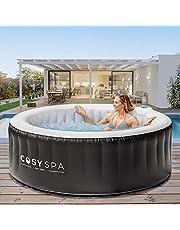 CosySpa Opblaasbare Hot Tub Spa - Bubbelbad Jacuzzi voor de tuin | 2-6 Personen - Snelle Opwarming