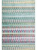 Benuta Visconti - Alfombra (120 x 180 cm, Fibra sintética, 120 x 180 cm), Color Verde