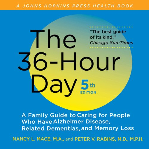 The 36-Hour Day audiobook cover art
