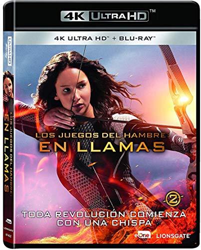 Los Juegos Del Hambre: En Llamas Blu-Ray + Uhd 4k [Blu-ray]
