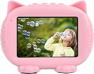 Goshyda Barn elektroniskt fotoalbum, hi‑Fi bild återställa MP3 uppspelning digital barns fotoram med vacker musik med snab...