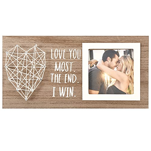 Gifts for Boyfriend Girlfriend Him Her  Love Wedding Picture Frame with 3x3 Inches photo  Cute Anniversary Engagement Wedding Gift Idea for Couple Fiancé Fiancée Husband Wife   Christmas Presents