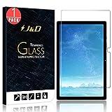 J&D Compatible para Samsung Galaxy Tab A7 10.4 2020 Protector de Pantalla, 1 Paquete Vidrio Templado, No Cobertura Completa Cristal Templado Protector de Pantalla para Galaxy Tab A7 10.4 2020