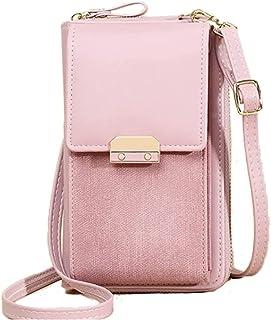 Smeir Damenkompatible Handytaschen, kleine Messenger Bags, Umhängetaschen, Geldbörsen, Kartentaschen, Handtaschen, Umhänge...