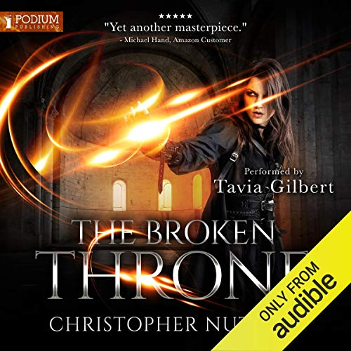 The Broken Throne audiobook cover art