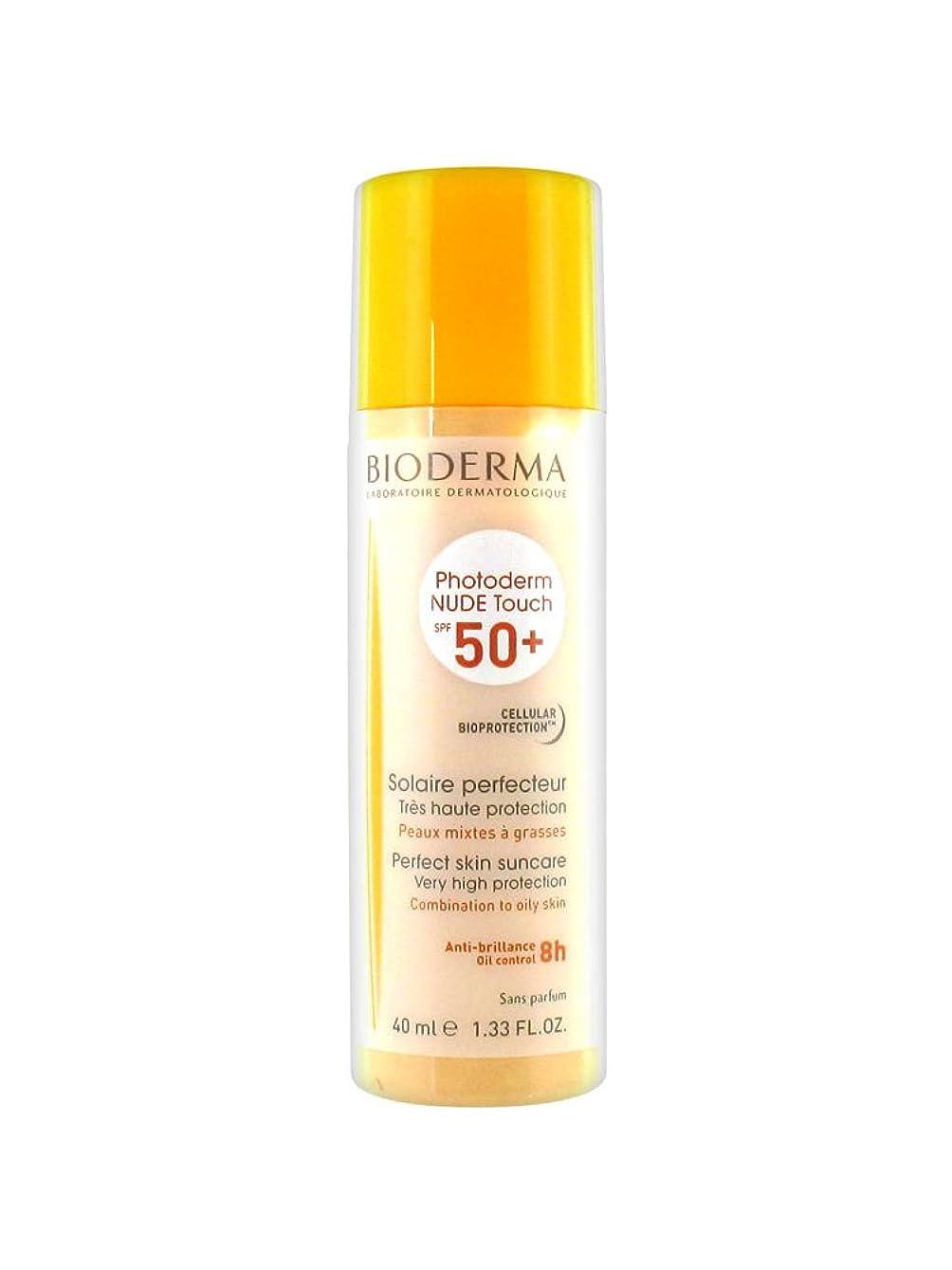 幸運なことにミネラル北Bioderma Photoderm Nude Touch Spf50 + Natural 40ml [並行輸入品]